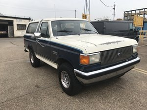 1987 ford bronco 4x4 truck v8 auto For Sale