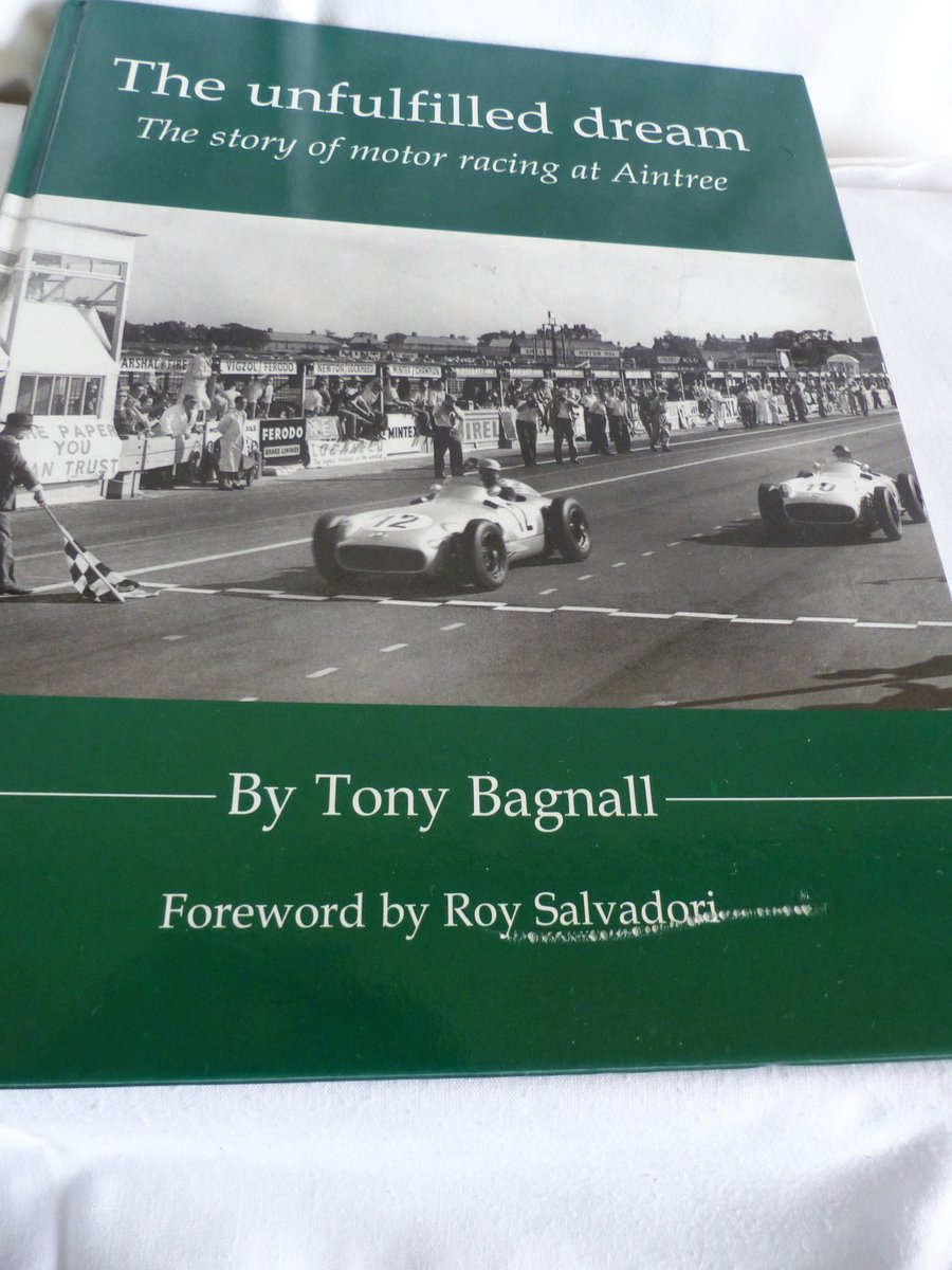 THE STORY OF MOTOR RACING AT AINTREE For Sale (picture 1 of 6)