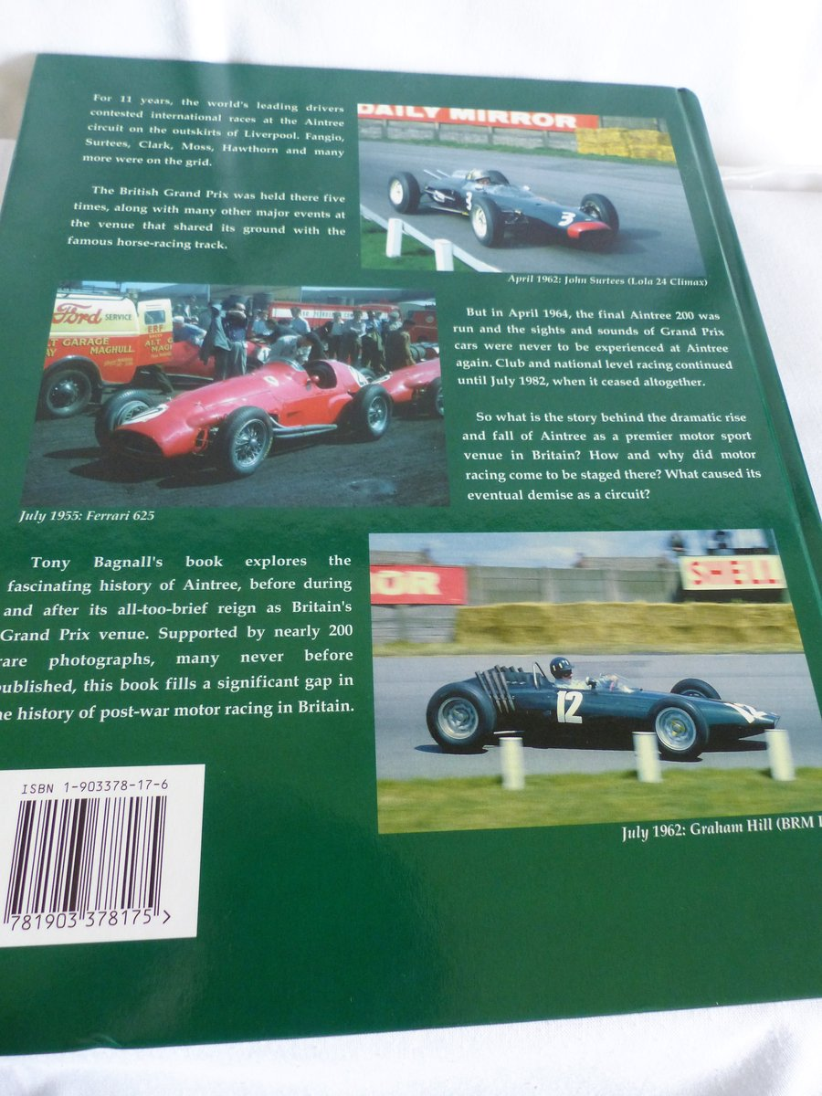 THE STORY OF MOTOR RACING AT AINTREE For Sale (picture 2 of 6)
