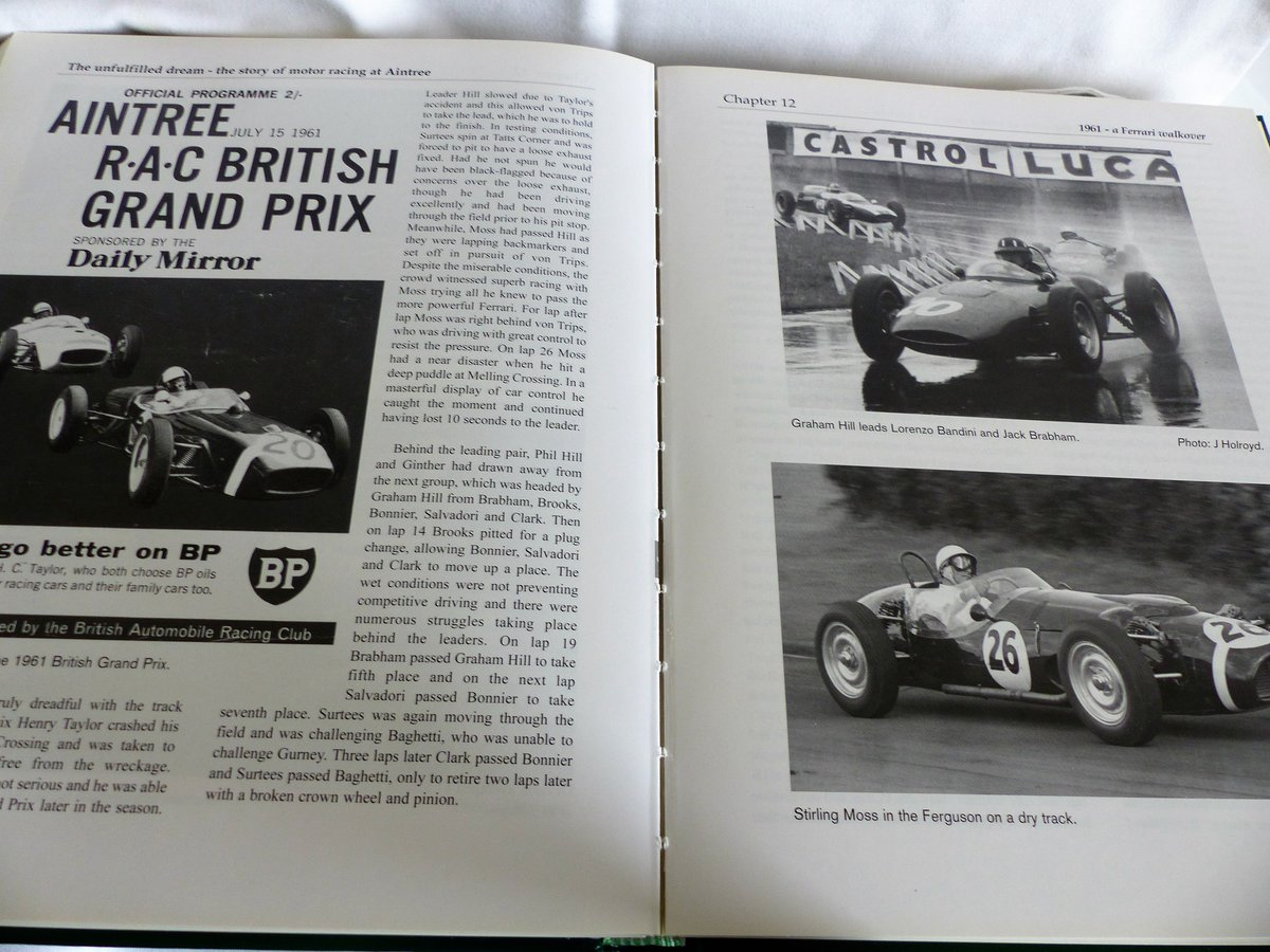 THE STORY OF MOTOR RACING AT AINTREE For Sale (picture 4 of 6)