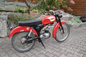 1961 Moped ITOM astor, 3 speeds gearbox