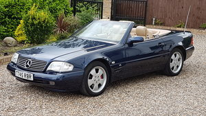 1999 Mercedes SL320 54000 miles exceptional For Sale