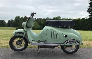 1956 MOTO PARILLA LEVRIERE (GREYHOUND) SCOOTER For Sale