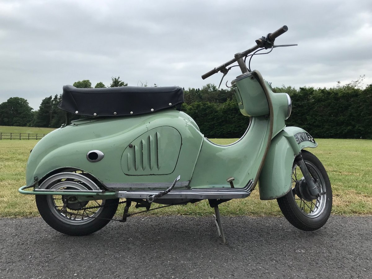 1956 MOTO PARILLA LEVRIERE (GREYHOUND) SCOOTER For Sale (picture 2 of 6)