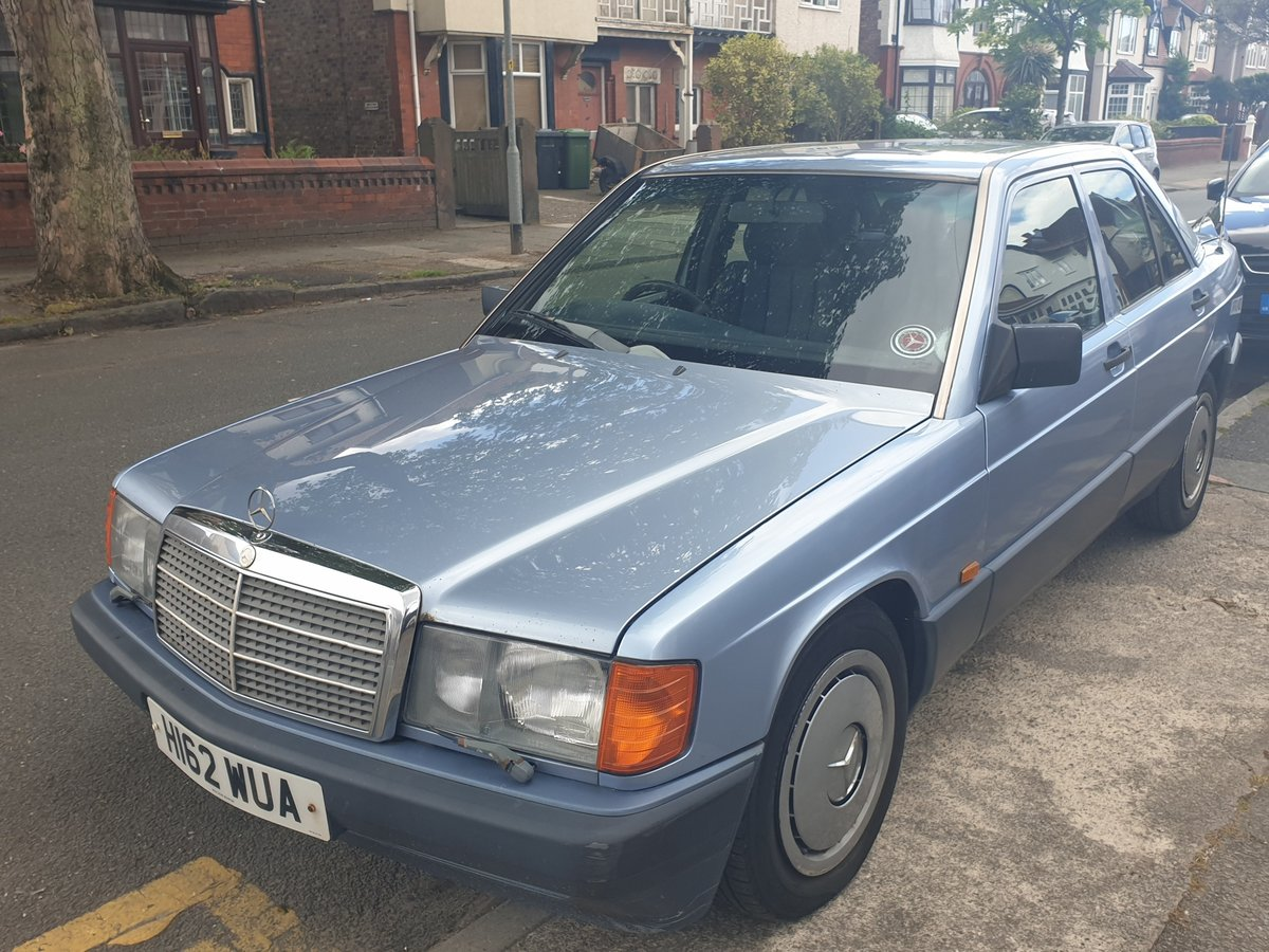 1991 Mercedes benz 190d 2.5 For Sale (picture 1 of 6)
