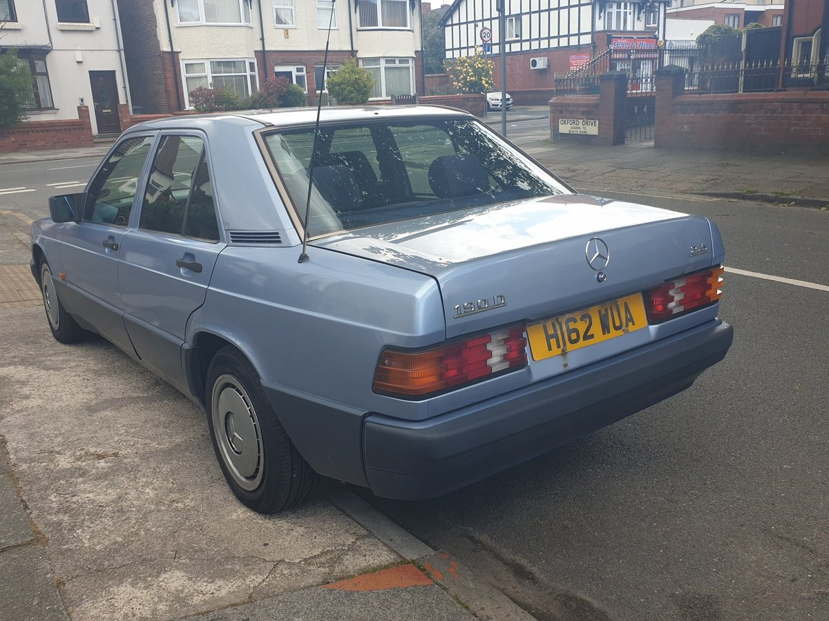 1991 Mercedes benz 190d 2.5 For Sale (picture 4 of 6)