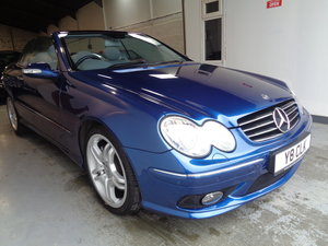2003 Clk 55 amg convertible - 41k fmbsh - lovely !! For Sale