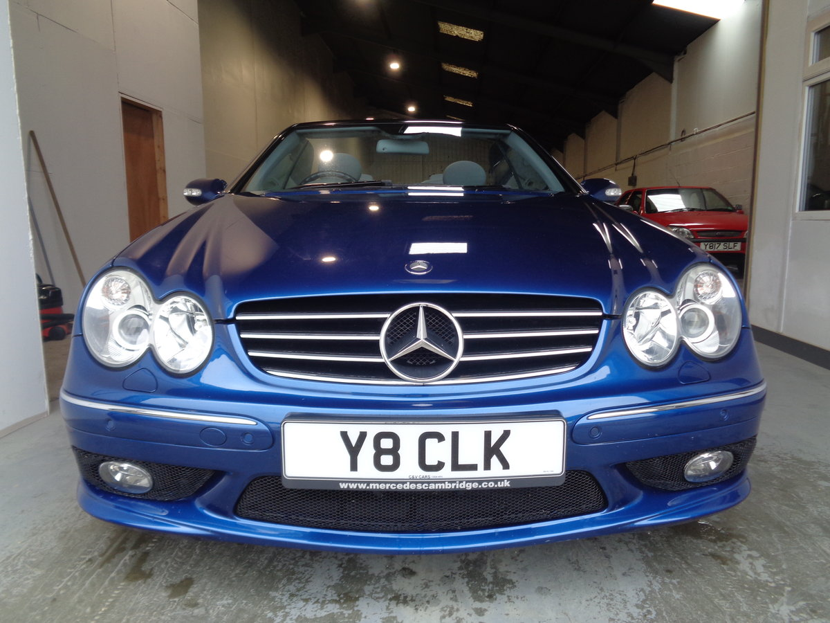 2003 Clk 55 amg convertible - 41k fmbsh - lovely !! For Sale (picture 2 of 6)