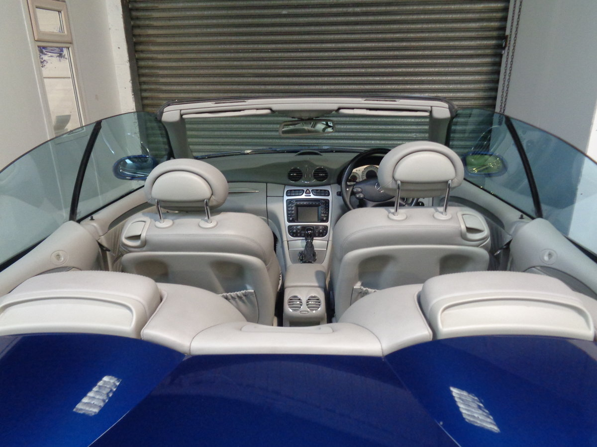 2003 Clk 55 amg convertible - 41k fmbsh - lovely !! For Sale (picture 6 of 6)