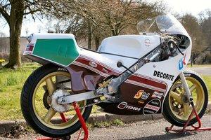 1986 Decorite Harris Rotax 256 race bike