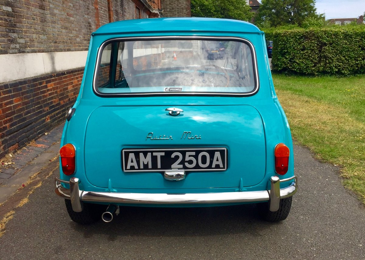 1963 Speedwell-tuned Austin Mini Mark 1 Super De Luxe For Sale (picture 3 of 6)