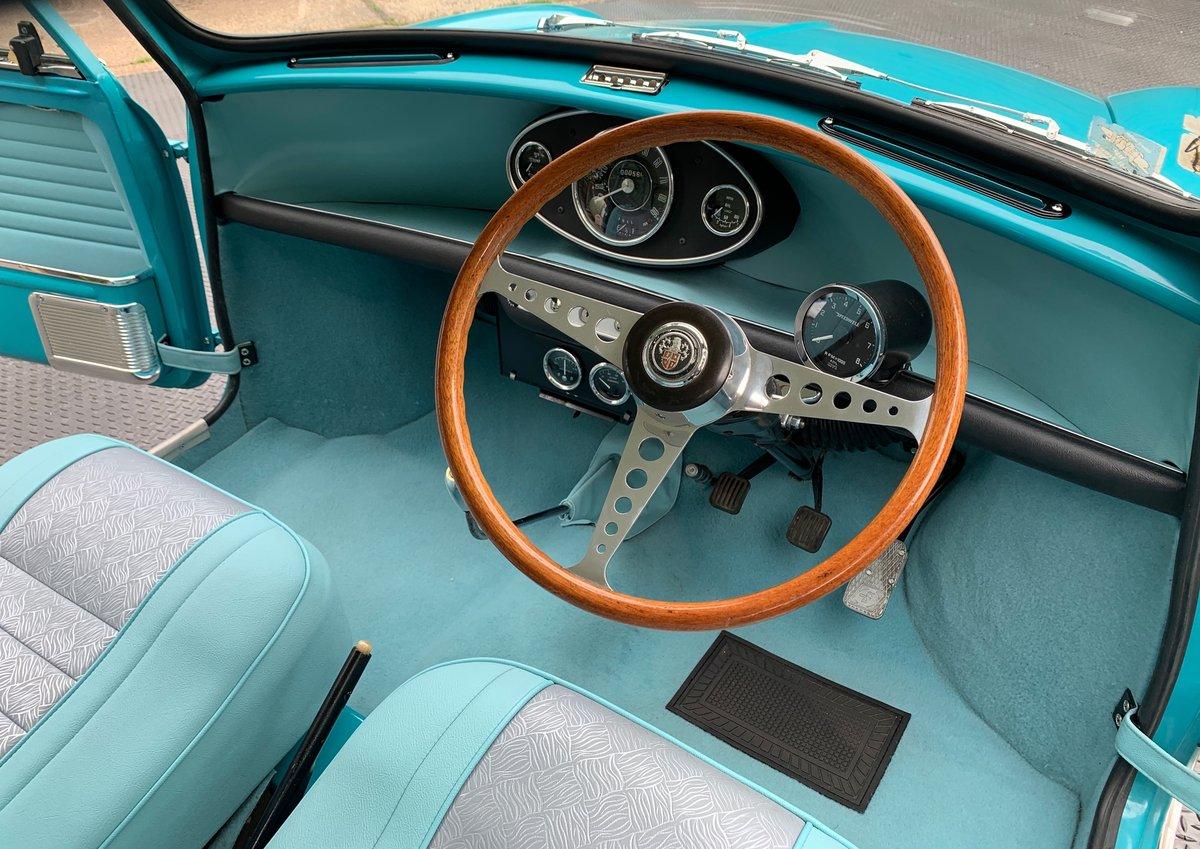 1963 Speedwell-tuned Austin Mini Mark 1 Super De Luxe For Sale (picture 4 of 6)