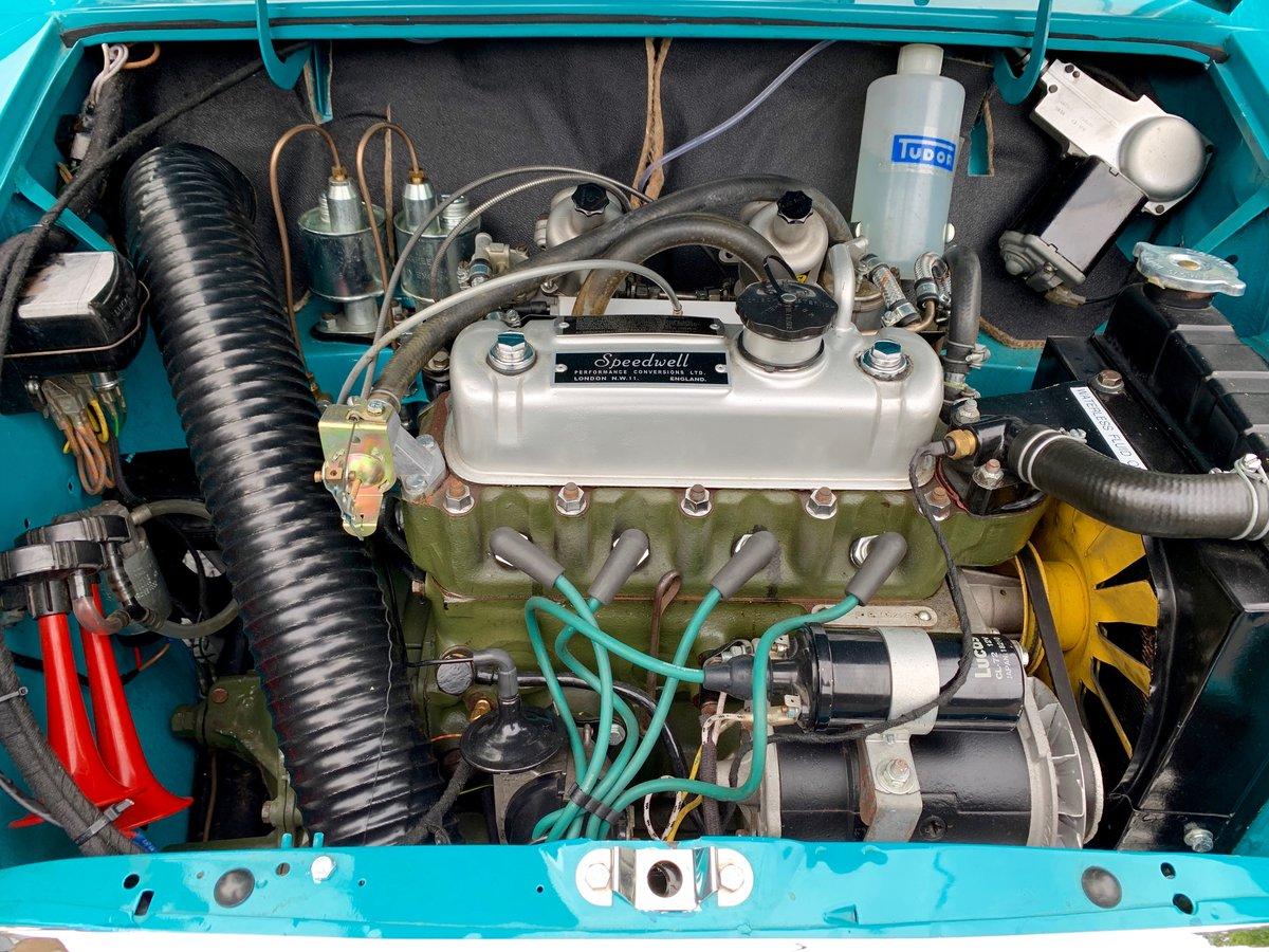 1963 Speedwell-tuned Austin Mini Mark 1 Super De Luxe For Sale (picture 5 of 6)