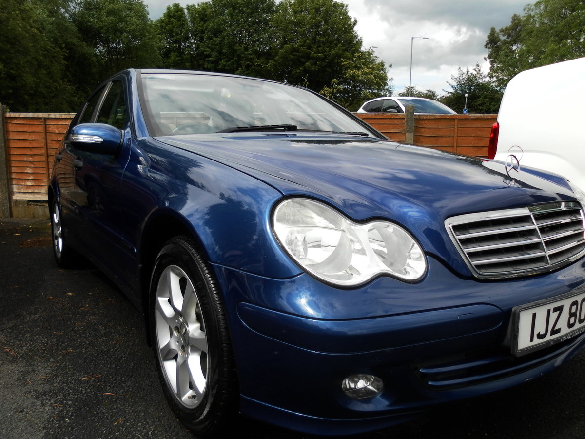 2005 Mercedes c180 classic s.e. Auto stunning condition For Sale (picture 1 of 6)