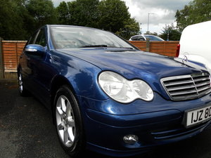 2005 Mercedes c180 classic s.e. Auto stunning condition For Sale
