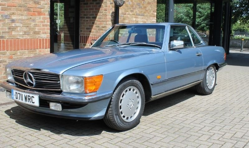 1987 Mercedes Benz SL 300 For Sale (picture 1 of 6)