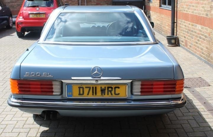 1987 Mercedes Benz SL 300 For Sale (picture 4 of 6)