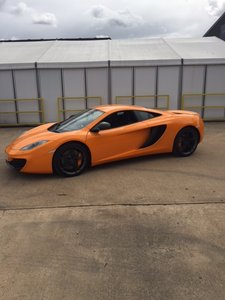 2012 Mclaren MP4-4C  only 435miles LHD