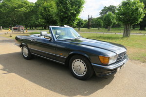 1988 Mercedes 300 SL300 R107 Blue Black FMSH 96k For Sale
