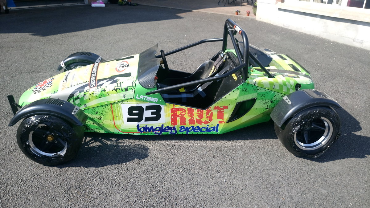 2012 Sylva Riot sprint hill climb track car For Sale (picture 1 of 6)