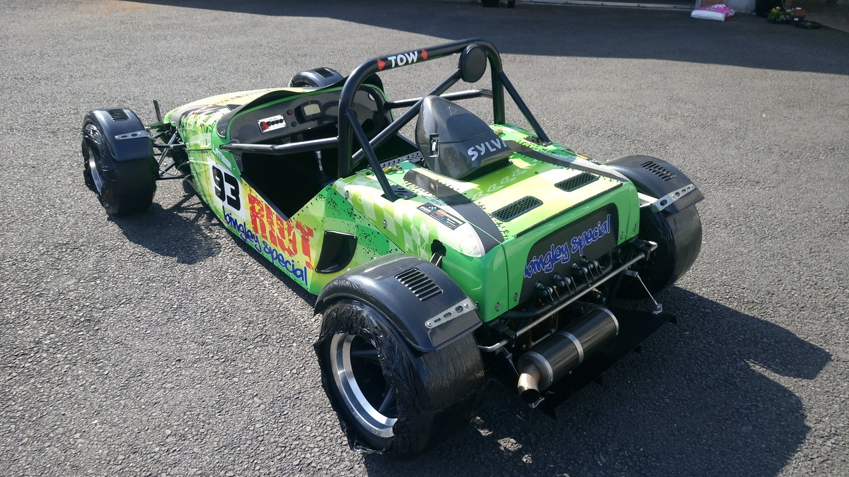 2012 Sylva Riot sprint hill climb track car For Sale (picture 2 of 6)