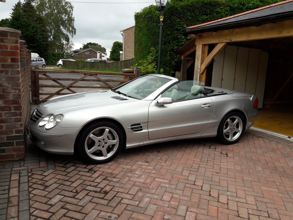 2003 Mercedes Benz Sl600 For Sale (picture 1 of 1)