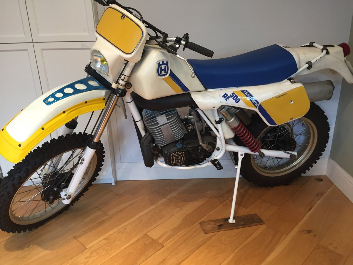 1984 Husqvarna 500 AE automatic enduro very nice For Sale (picture 1 of 6)
