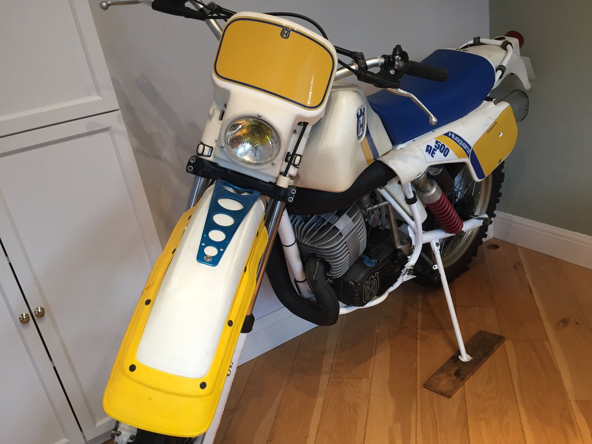 1984 Husqvarna 500 AE automatic enduro very nice For Sale (picture 2 of 6)