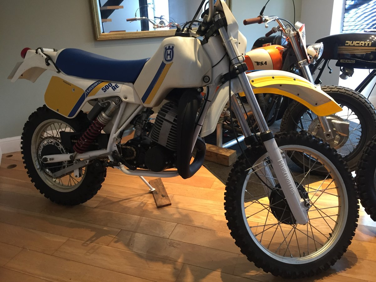 1984 Husqvarna 500 AE automatic enduro very nice For Sale (picture 3 of 6)