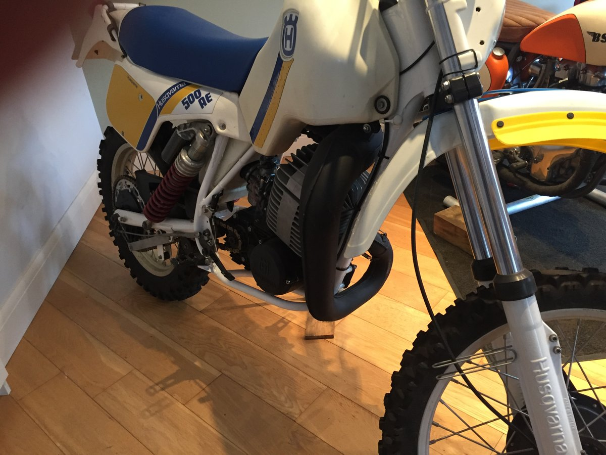 1984 Husqvarna 500 AE automatic enduro very nice For Sale (picture 6 of 6)