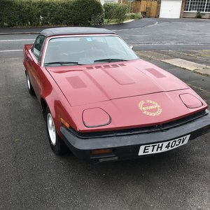 1979 Low Miles Anniversary Model LHD TR7 Convertible For Sale