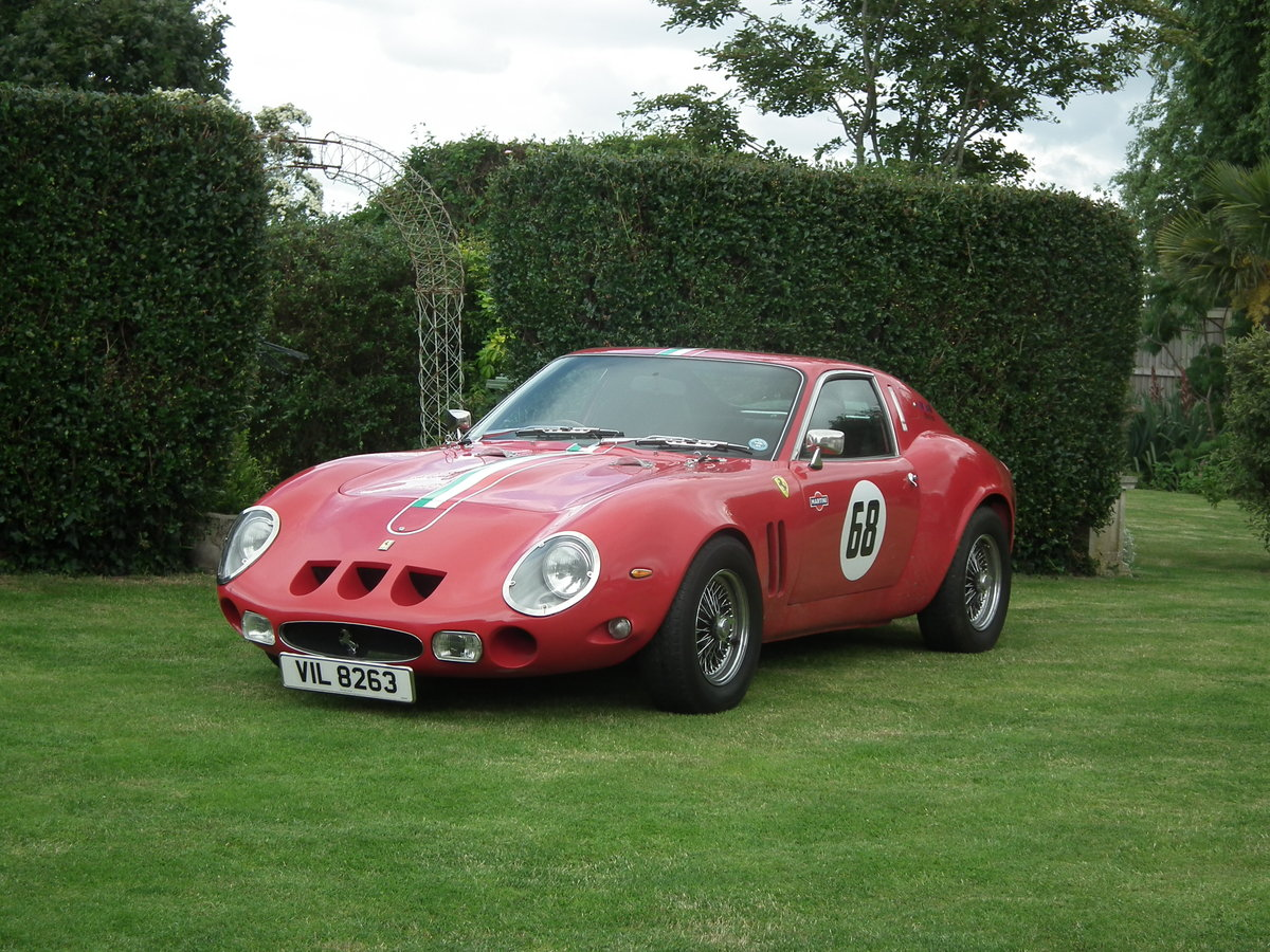 2009 250 GTO Recreation red 3 litre power For Sale (picture 1 of 6)