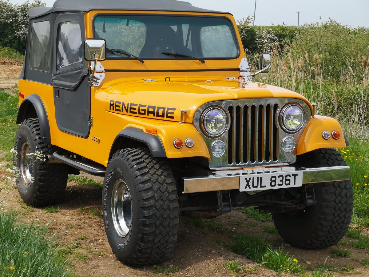 1978 5.9Lt Renegade Jeep cj7 For Sale (picture 1 of 6)