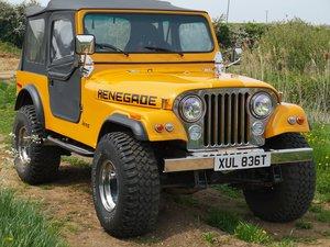 1978 5.9Lt Renegade Jeep cj7