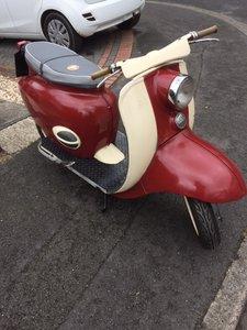 1960 BSA Sunbeam/Tigress Scooter 250cc 90% complete