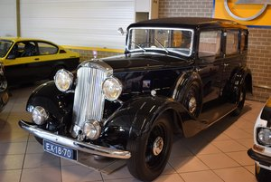 1934 Humber Pullman snipe 80  family piece. For Sale