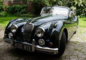 1956 Jaguar XK140 DHC UK car For Sale