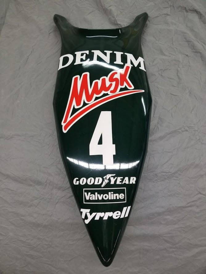 1982 Brian Henson Tyrrell Nosecone For Sale (picture 1 of 6)