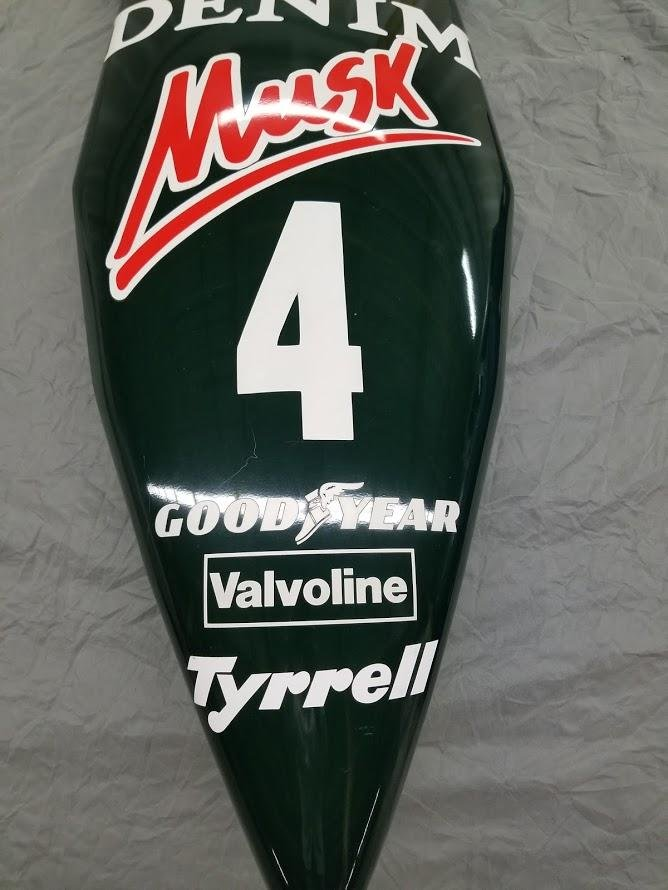 1982 Brian Henson Tyrrell Nosecone For Sale (picture 2 of 6)