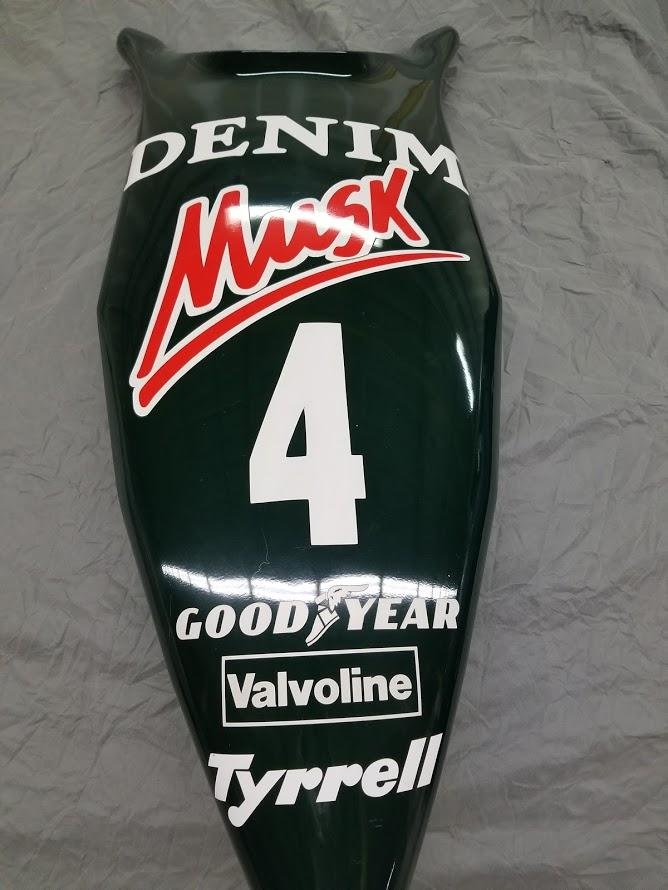 1982 Brian Henson Tyrrell Nosecone For Sale (picture 3 of 6)
