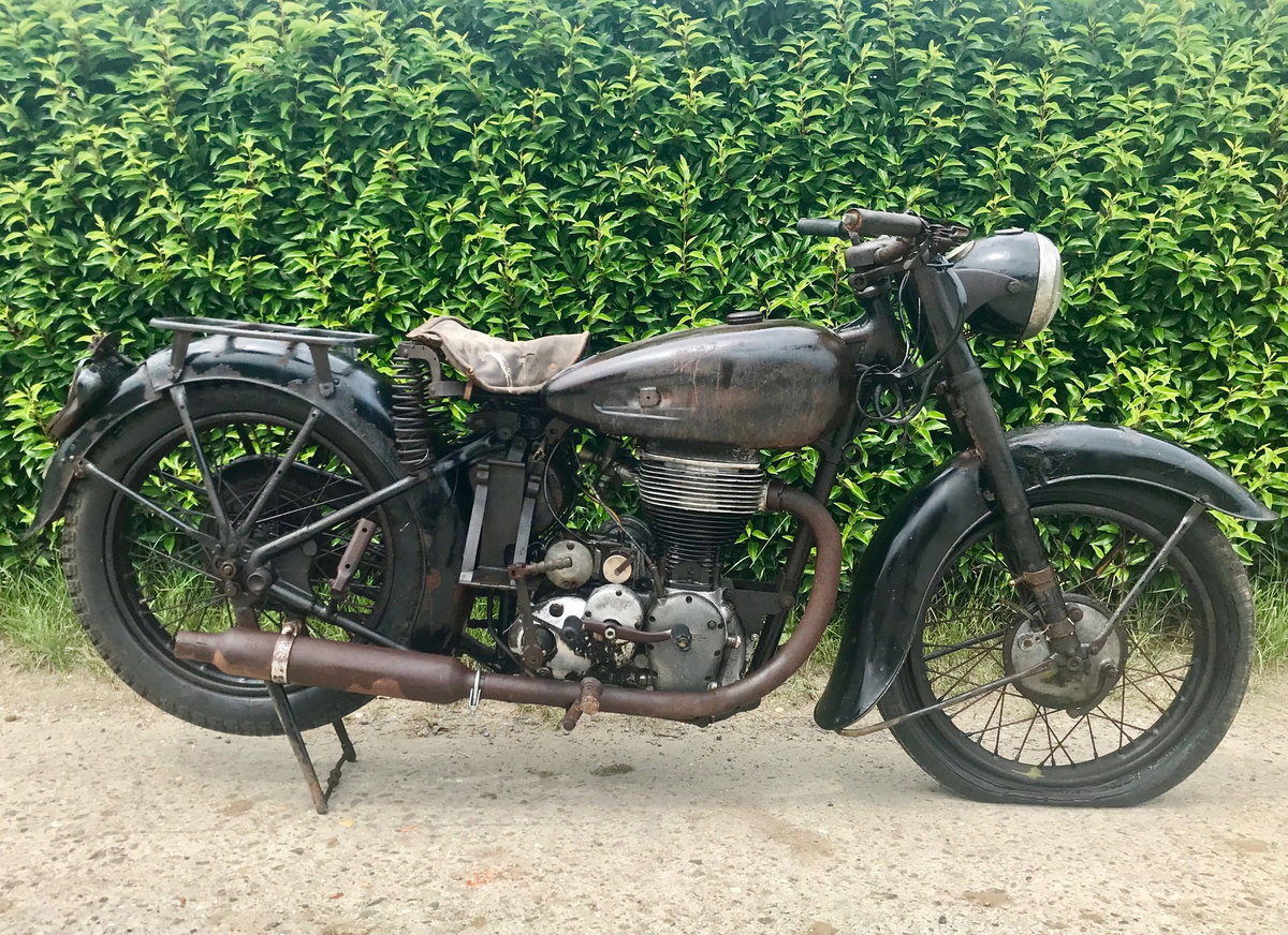 1948 Terrot - RSSE - RGAS  500cc OHV For Sale (picture 1 of 5)