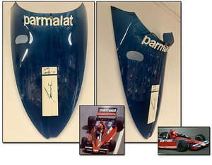 1978 Niki Lauda wind screen signed For Sale