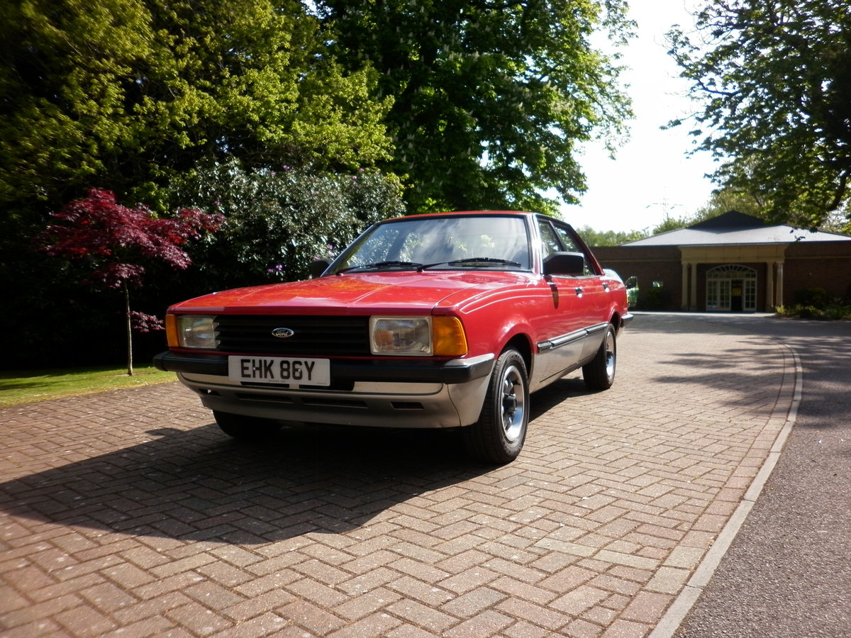 FORD CORTINA CRUSADER 1.6 RARE AUTOMATIC 1982 For Sale (picture 2 of 6)