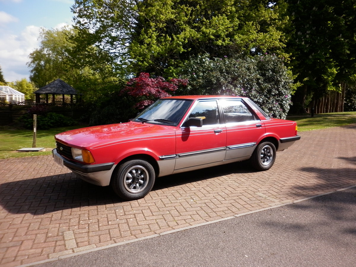 FORD CORTINA CRUSADER 1.6 RARE AUTOMATIC 1982 For Sale (picture 3 of 6)