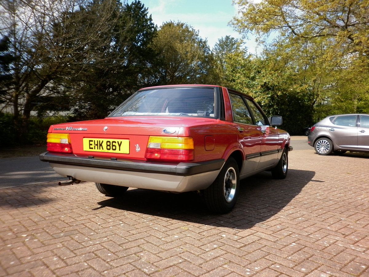 FORD CORTINA CRUSADER 1.6 RARE AUTOMATIC 1982 For Sale (picture 4 of 6)