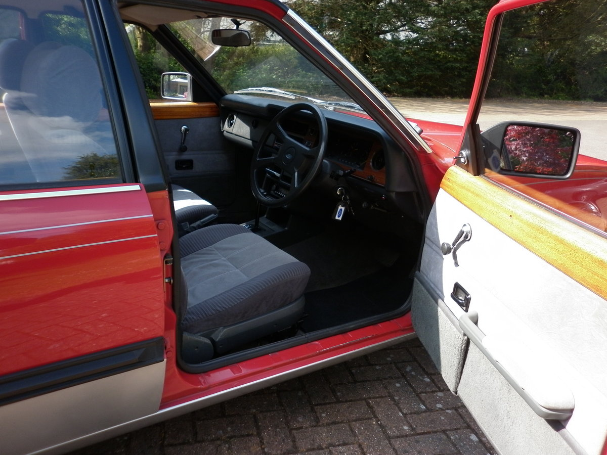 FORD CORTINA CRUSADER 1.6 RARE AUTOMATIC 1982 For Sale (picture 5 of 6)