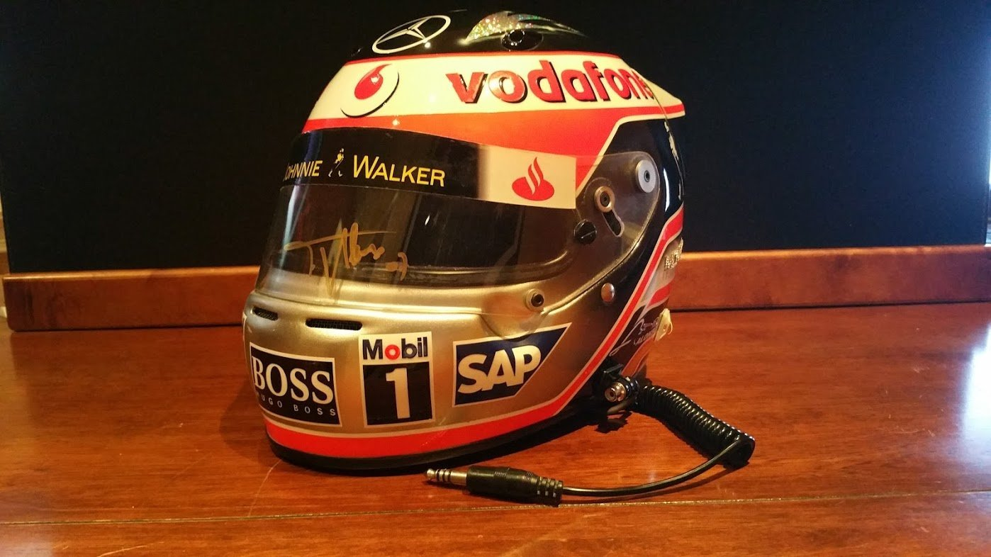 2007 Fernando Alonso official replica Helmet For Sale (picture 1 of 6)