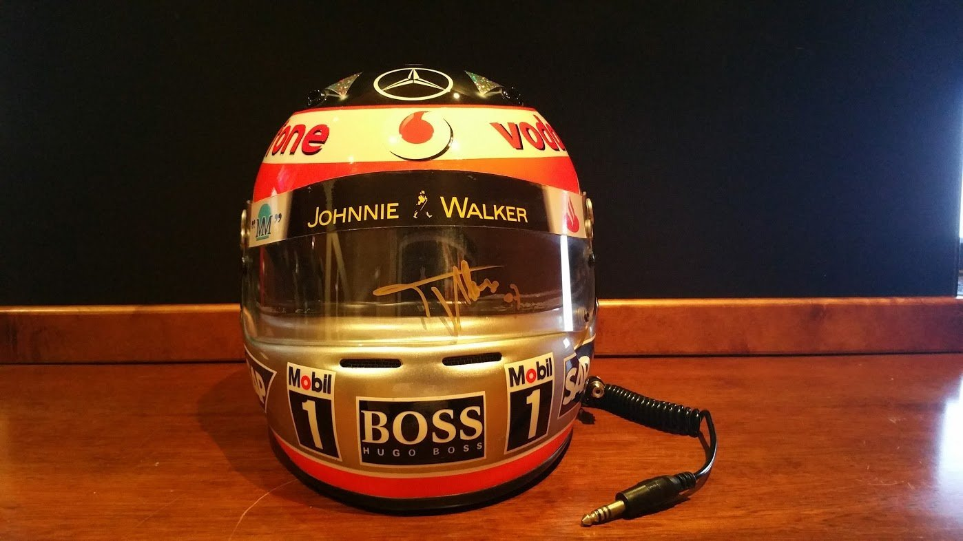 2007 Fernando Alonso official replica Helmet For Sale (picture 2 of 6)