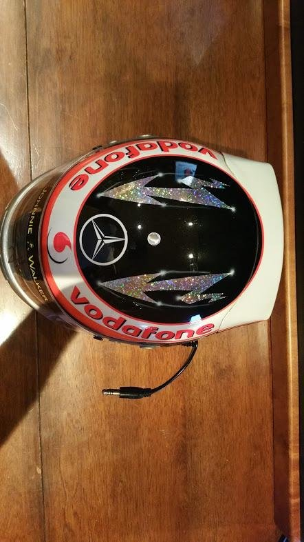 2007 Fernando Alonso official replica Helmet For Sale (picture 6 of 6)