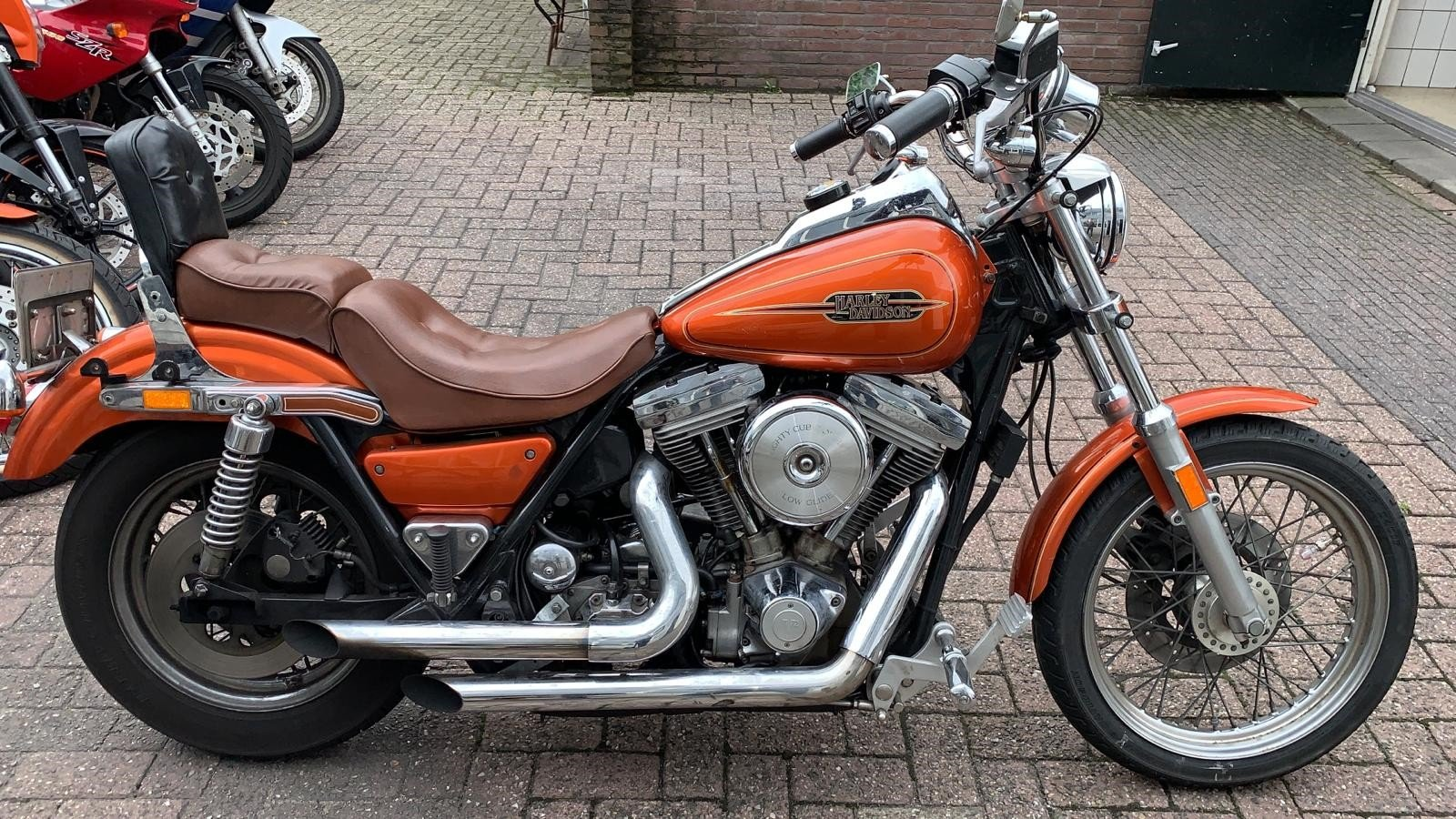 1985 harley davidson FXR custom 1075 made For Sale (picture 1 of 6)